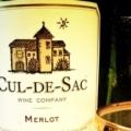 Cul-de-Sac wine
